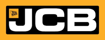 JCB IMPACT LOGO 225mm x 70mm WITH SAFE AREA 4CO BLACK